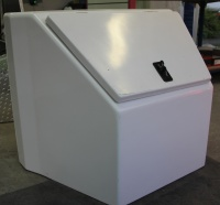 Drawbar Storage box